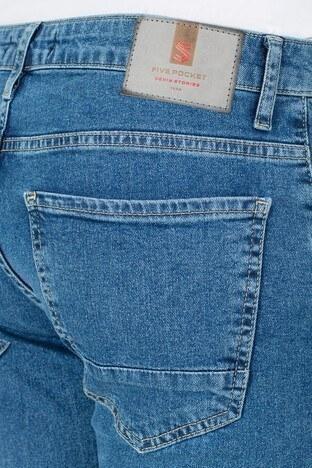 Buratti Slim Fit Jeans Erkek Kot Pantolon 7306H9642BARTEZ MAVİ