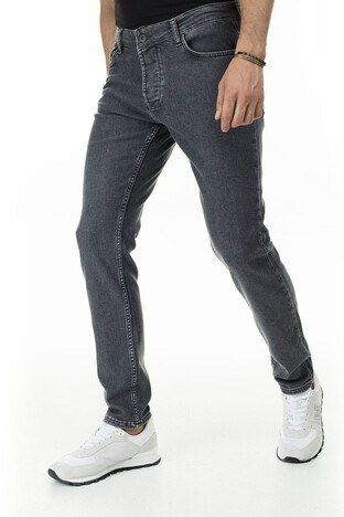 Buratti Slim Fit Jeans Erkek Kot Pantolon 7415F003BARTEZ GRİ