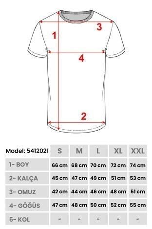 Buratti Slim Fit Kapüşonlu Erkek T Shirt 5412021 HAKİ