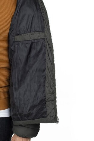 Buratti Slim Fit Kapüşonlu Şişme Erkek Mont 55619K5041 HAKİ