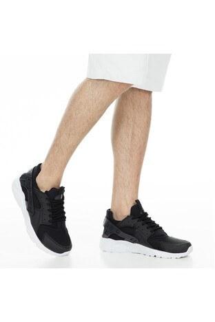 Buratti Sport Erkek Ayakkabı 51218726 SİYAH-BEYAZ