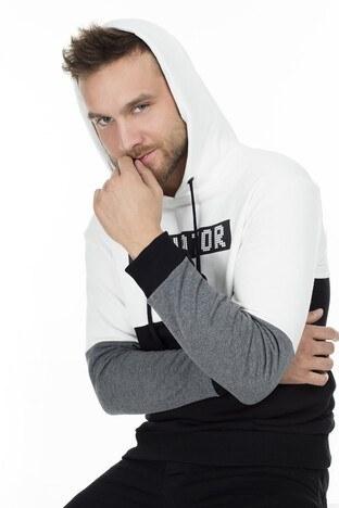 Buratti Sport Erkek Sweat 0434118 EKRU
