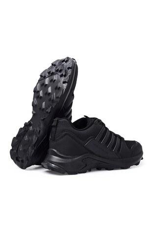 Buratti Su Geçirmez Memory Foam Kışlık Erkek Ayakkabı TROY B SİYAH-SİYAH