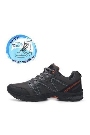 Buratti Suya Dayanıklı Memory Foam Kışlık Erkek Ayakkabı DRAVENK Füme-Oranj