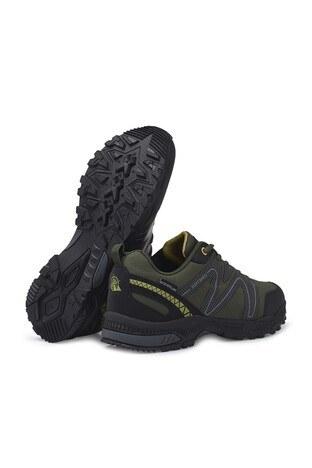 Buratti Suya Dayanıklı Memory Foam Kışlık Erkek Ayakkabı DRAVENK HAKİ-SARI