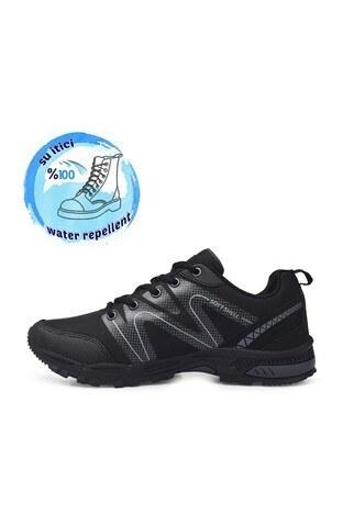 Buratti Suya Dayanıklı Memory Foam Kışlık Erkek Ayakkabı DRAVENK SİYAH-FÜME