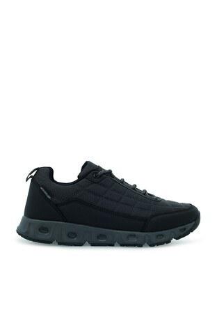 Buratti - Buratti Suya Dayanıklı Memory Foam Trekking Erkek Ayakkabı PANTHEON Füme-Siyah-Füme