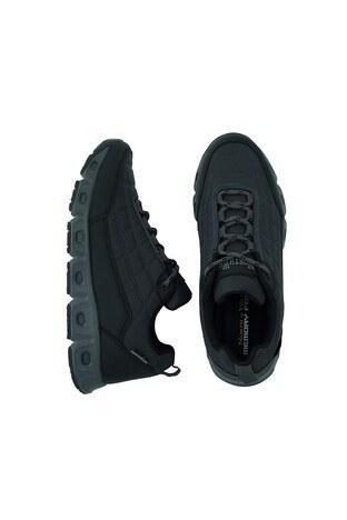 Buratti Suya Dayanıklı Memory Foam Trekking Erkek Ayakkabı PANTHEON Füme-Siyah-Füme