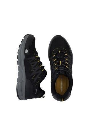 Buratti Suya Dayanıklı Trekking Erkek Ayakkabı KARTUS SİYAH-FÜME
