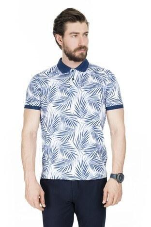 Buratti T Shirt Erkek Polo 4362068 MARINE