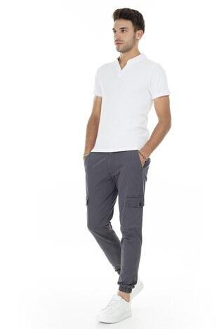 Buratti V Yaka Erkek T Shirt CF20S214365 BEYAZ