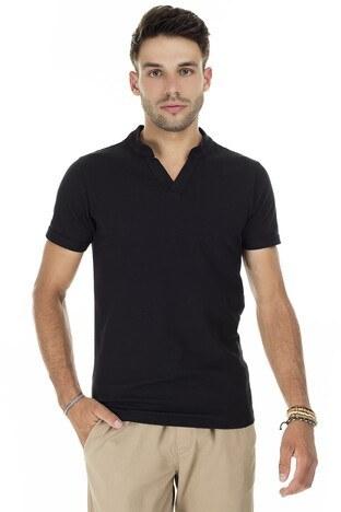 Buratti - Buratti V Yaka Erkek T Shirt CF20S214365 SİYAH
