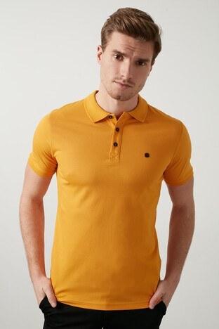 Buratti Pamuklu Yaka T Shirt Erkek Polo 0438101 HARDAL