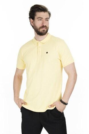 Buratti Pamuklu Yaka T Shirt Erkek Polo 0438101 SARI