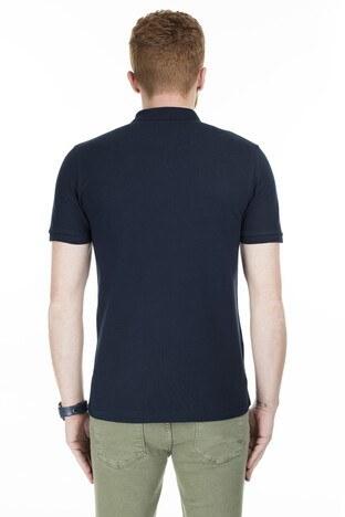 Buratti Yaka T Shirt Erkek Polo 4362065 LACİVERT