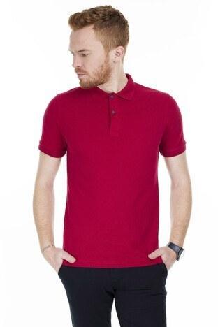 Buratti - Buratti Yaka T Shirt Erkek Polo 4362065 Marlboro
