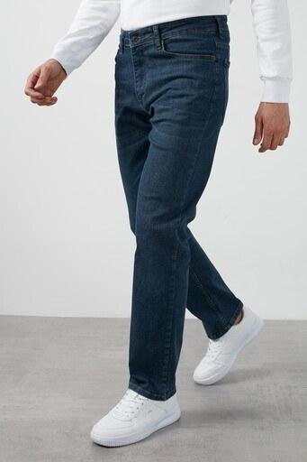 Buratti Yüksek Bel Regular Fit Boru Paça Pamuklu Jeans Erkek Kot Pantolon 7421F138KING MAVİ