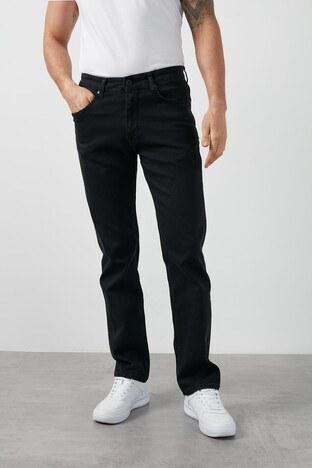 Buratti Yüksek Bel Regular Fit Boru Paça Pamuklu Jeans Erkek Kot Pantolon 7421H020KING SİYAH