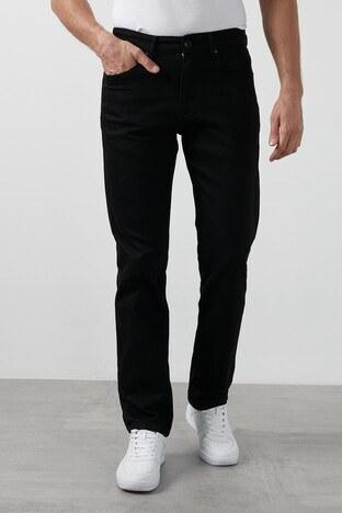 Buratti - Buratti Yüksek Bel Regular Fit Boru Paça Pamuklu Jeans Erkek Kot Pantolon 7421N185KING SİYAH