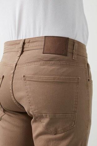 Buratti Yüksek Bel Regular Fit Jeans Erkek Kot Pantolon 7503E217KING CAMEL