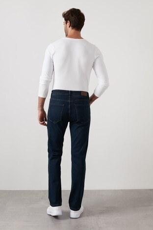 Buratti Yüksek Bel Regular Fit Pamuklu Jeans Erkek Kot Pantolon 7421S132KING KOYU MAVİ