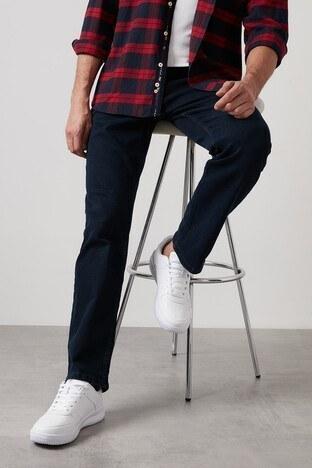 Buratti - Buratti Yüksek Bel Regular Fit Pamuklu Jeans Erkek Kot Pantolon 7421S149KING KOYU LACIVERT