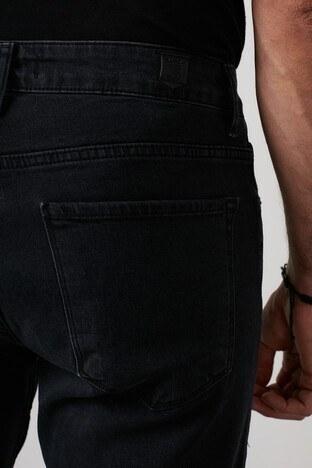 Buratti Yüksek Bel Regular Fit Pamuklu Jeans Erkek Kot Pantolon 7421S168KING SİYAH