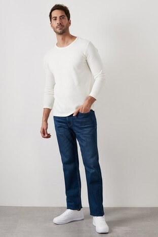 Buratti Yüksek Bel Regular Fit Pamuklu Jeans Erkek Kot Pantolon 7421S471KING MAVİ
