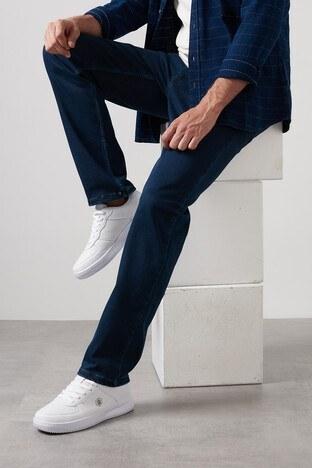Buratti - Buratti Yüksek Bel Regular Fit Pamuklu Jeans Erkek Kot Pantolon 7421S9601KING KOYU MAVİ
