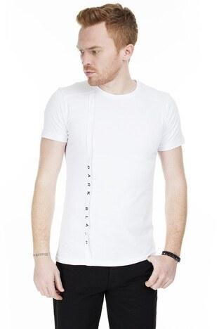 Cazador - Cazador Erkek T Shirt CAZ 4122 BEYAZ