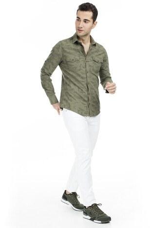 Cazador Erkek Gömlek CDR 2084 HAKİ