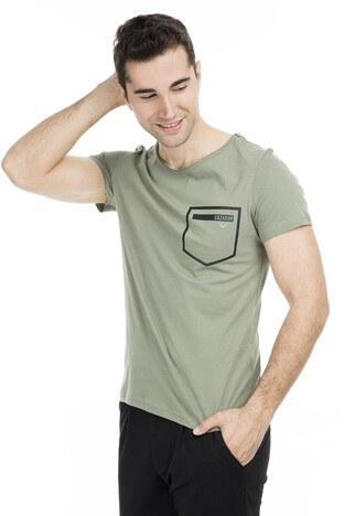 Cazador - Cazador Erkek T Shirt 473CDR4107 HAKİ