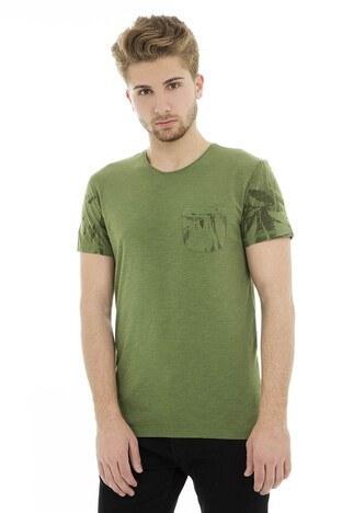 Cazador - Cazador Erkek T Shirt 473CDR4507 YEŞİL
