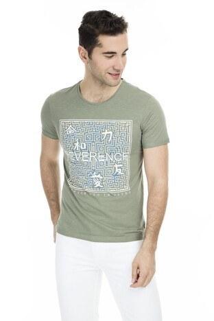 Cazador - Cazador Erkek T Shirt CDR4068 HAKİ
