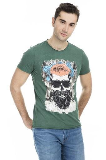 Cazador Baskılı Erkek T Shirt CDR 4029 HUNTER