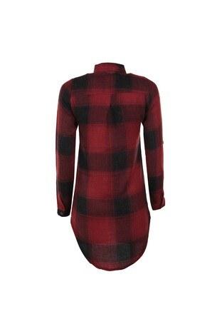 CAZADOR Kadın Gömlek CDR2315 BORDO
