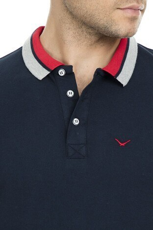 Cazador Polo Erkek T Shirt CDR 4294 LACİVERT
