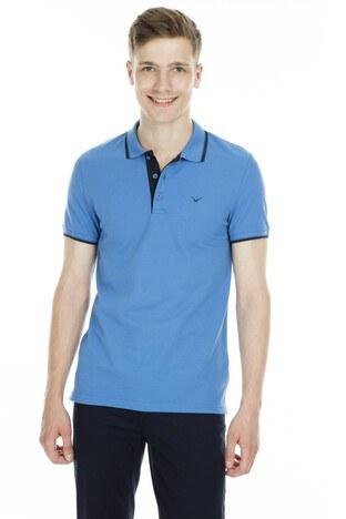 Cazador Polo Erkek T Shirt CDR 4614 MAVİ