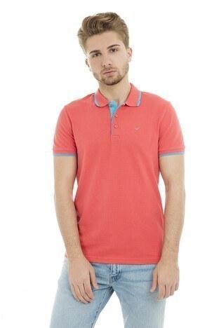 Cazador - Cazador Polo Erkek T Shirt CDR 4614 NAR ÇİÇEĞİ