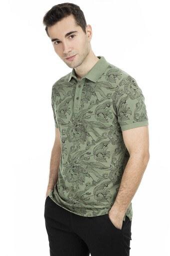 Cazador Polo Erkek T Shirt CDR4095 HAKİ