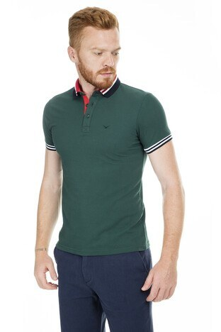 Cazador - Cazador Polo Erkek T Shirt CDR4296 HUNTER