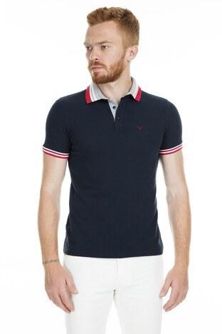 Cazador Polo Erkek T Shirt CDR4296 LACİVERT