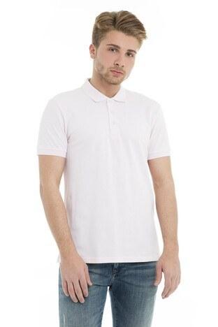 Cazador - Cazador Polo Yaka Erkek T Shirt CDR 4613 PUDRA
