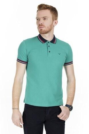 Cazador - Cazador T Shirt Erkek Polo CAZ 4224 NEFTİ