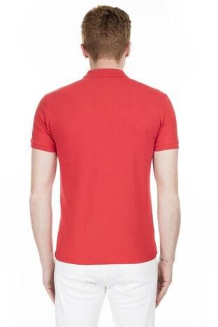 Cazador Yaka T Shirt Erkek Polo CAZ 4613 BAYRAK KIRMIZI