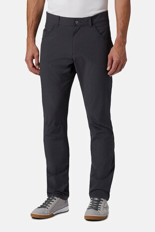 Columbia - Columbia Dar Kesim Düz Paça Cepli Erkek Pantolon AO0349-011 ANTRASİT