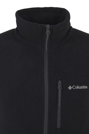Columbia Dik Yaka Kışlık Outdoor Erkek Polar 1420426010 SİYAH