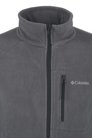 Columbia Dik Yaka Kışlık Outdoor Erkek Polar 1420426023 GRİ