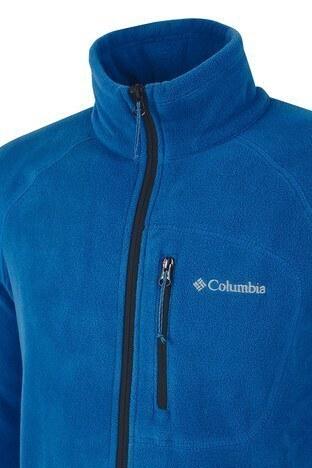 Columbia Dik Yaka Kışlık Outdoor Erkek Polar 1420426433 MAVİ
