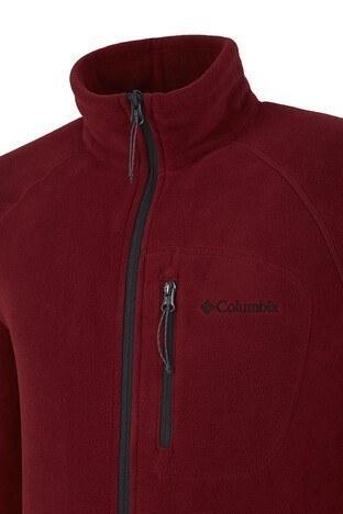 Columbia Dik Yaka Kışlık Outdoor Erkek Polar 1420426665 KIRMIZI